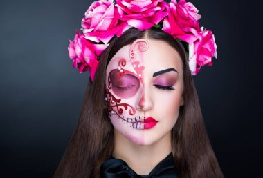 make up mexican day