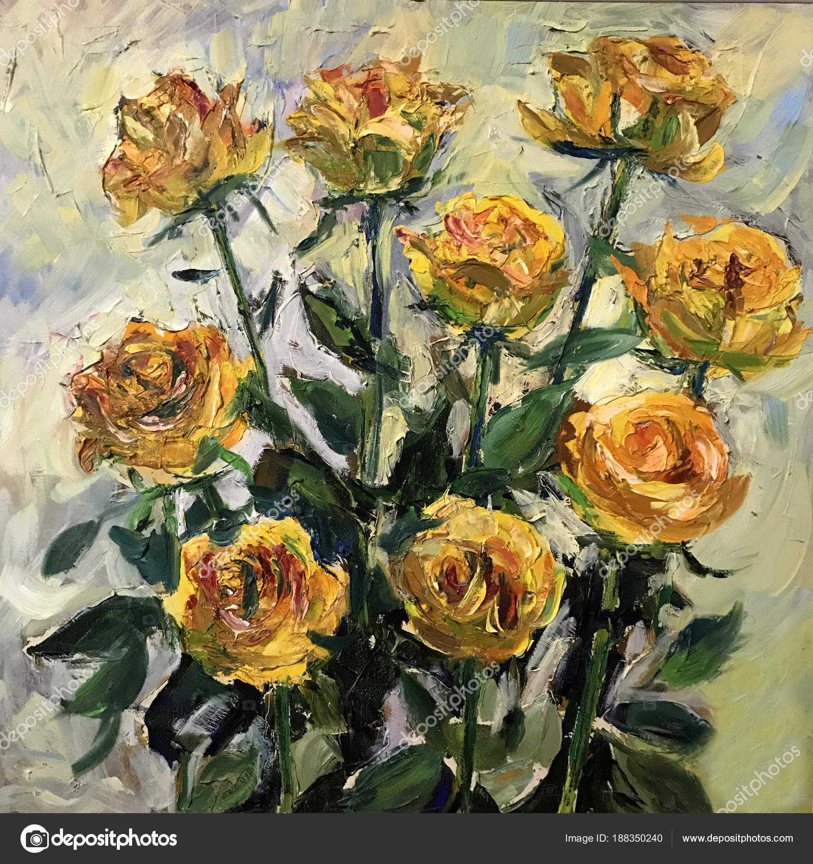 Pictures Yellow Aesthetic Wallpaper Yellow Roses Painting