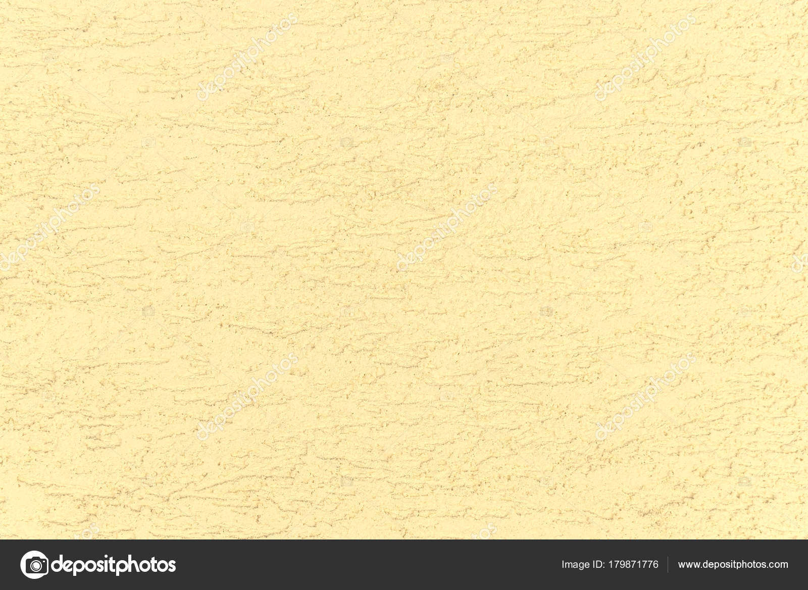 Texture for background. Yellow decorative relief plaster on wall ...