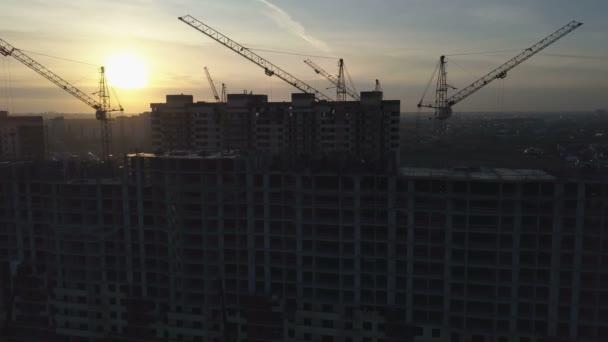 Letecký pohled na moderní městské výstavby a rozvoje