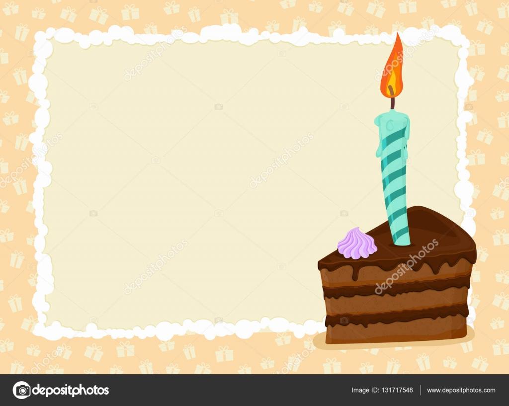přání k narozeninám šablona Přání k narozeninám. Hračka a svíčku. Prázdninový pozdrav šablona  přání k narozeninám šablona