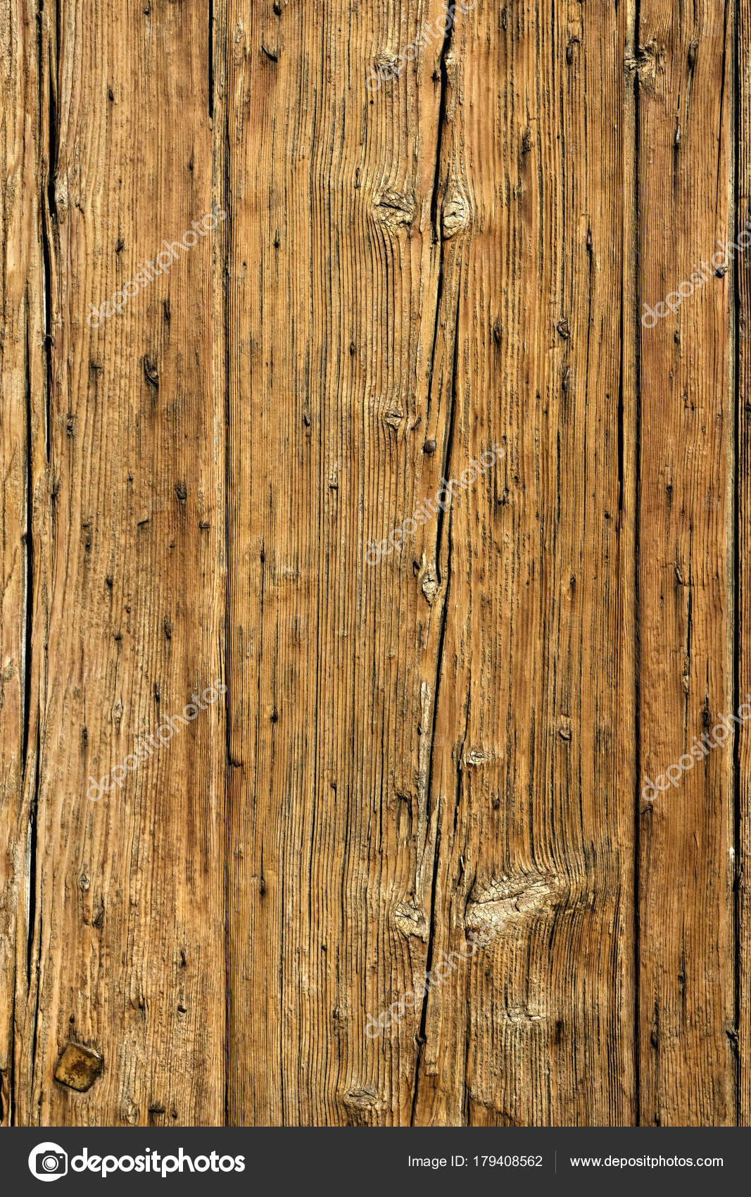 Old Ed Wood Panel Background Vertical Stock Photo