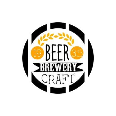 Beer Brewery Logo Design Template
