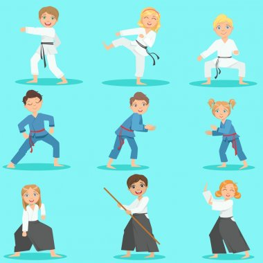 Kids On Martial Arts Training