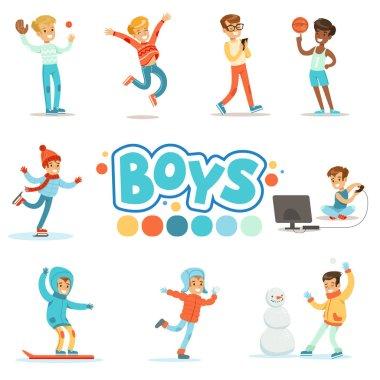 Happy Boys  Active Games