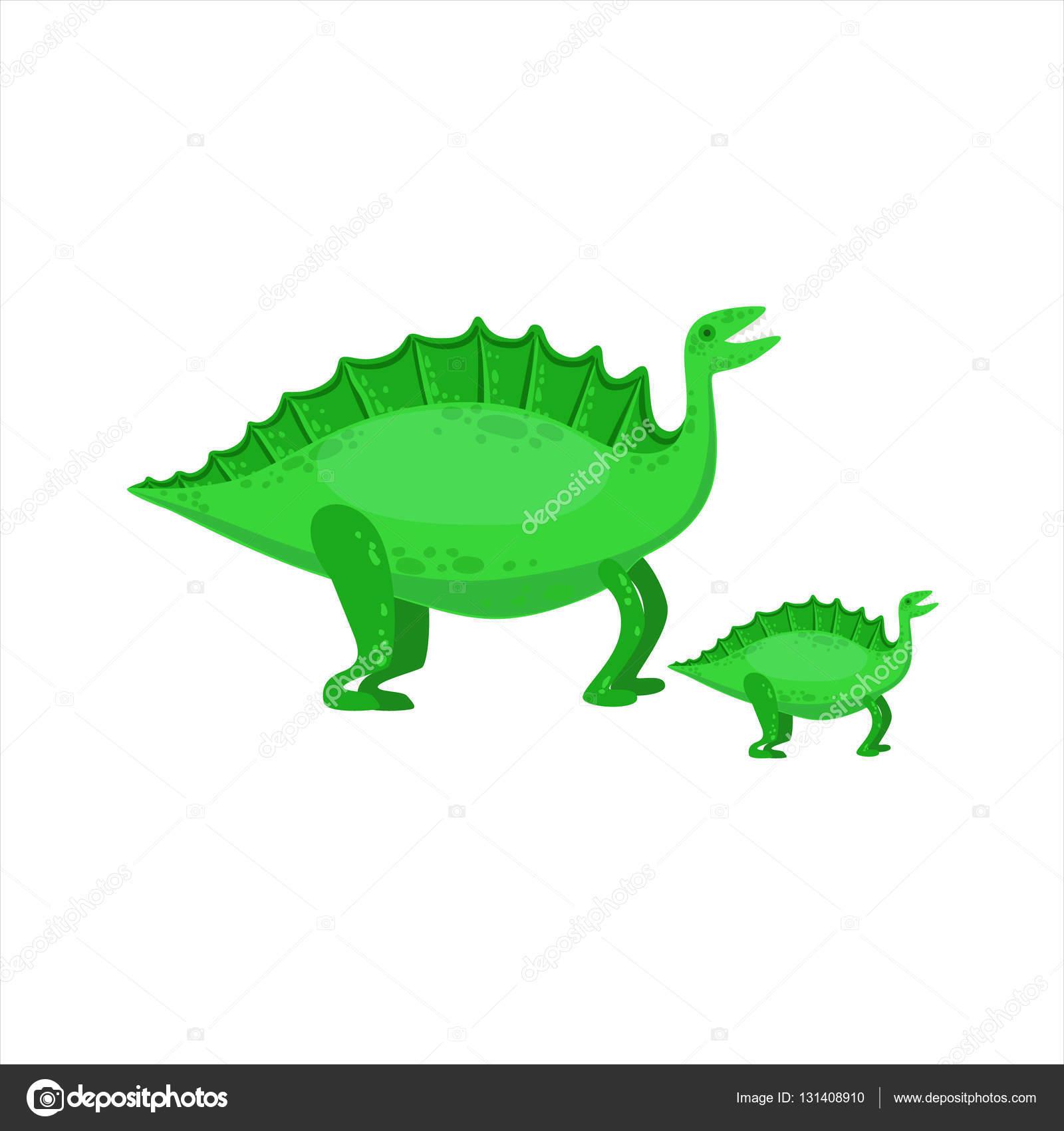 Stegosaurus Dinosaurier prähistorische Monster paar ähnliche Probe ...