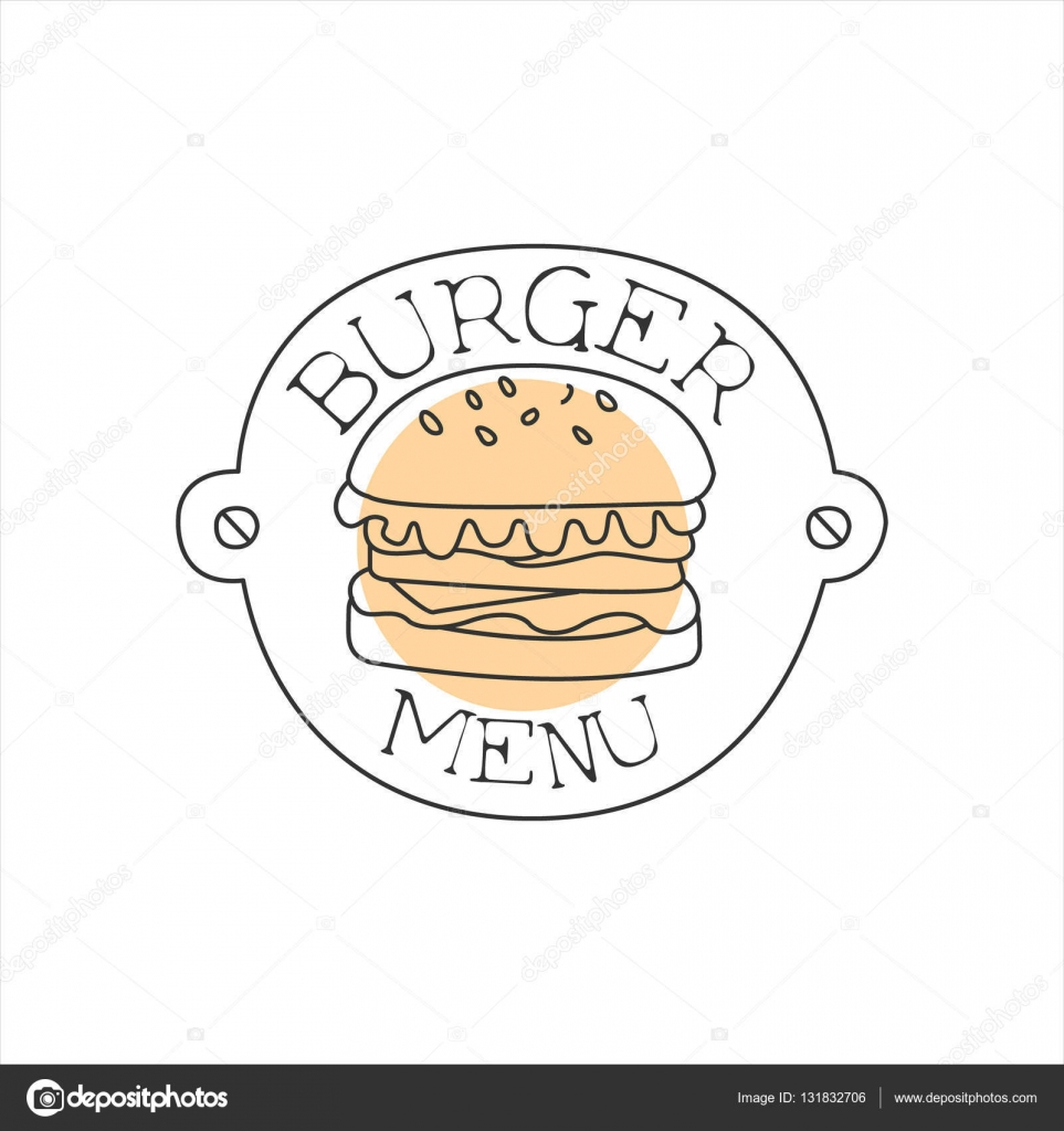 Burger On A Metal Plate WIth Nails Premium Quality Fast Food Street ...