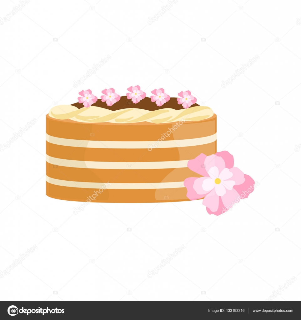 Astonishing Classy Birthday Cakes Classy Cake With Chocolate And Flowers Funny Birthday Cards Online Overcheapnameinfo