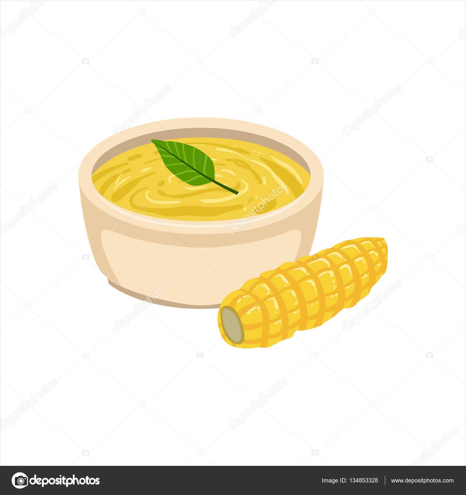 Maíz sopa cocina mexicana tradicional plato alimento de Cafe menú ...