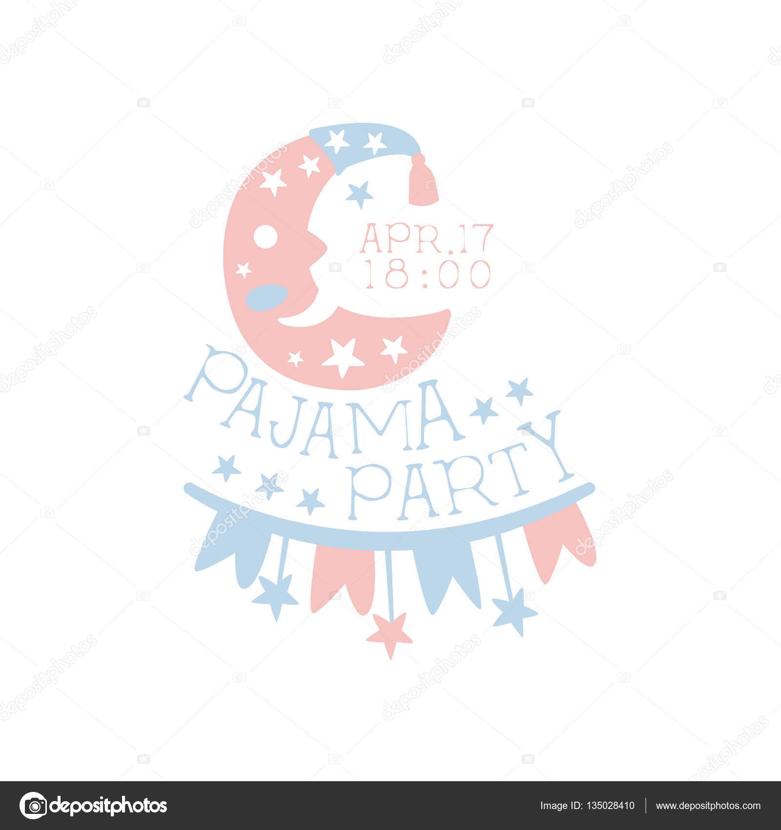 Cute Sleepover Invitation Ideas Girly Pajama Party