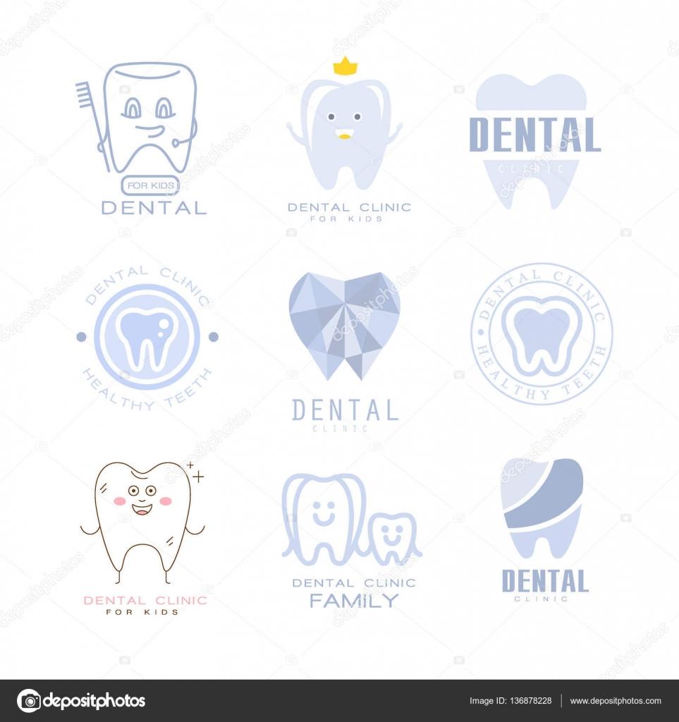 Clínica Dental de los niños al dentista gabinete conjunto de ...