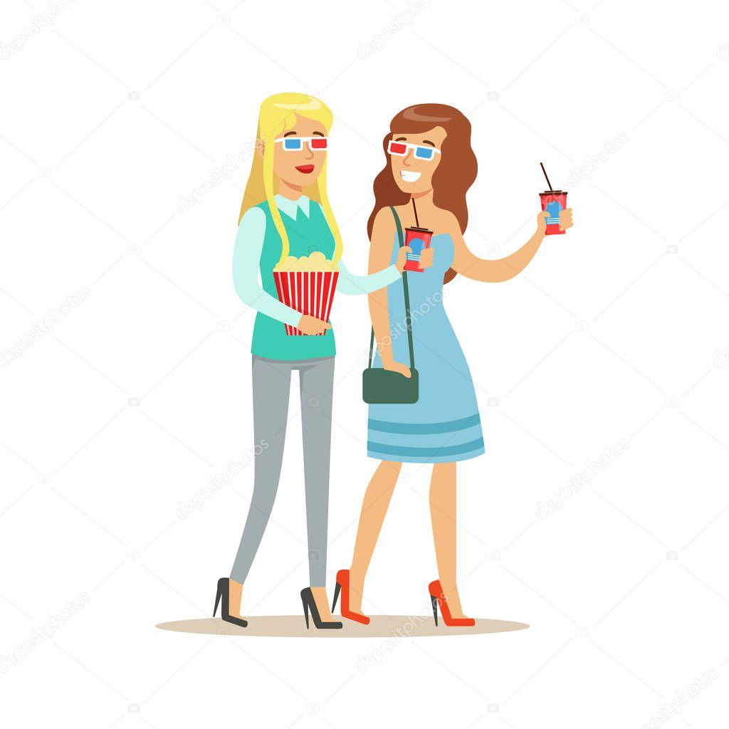 Dibujos: animados de dos amigas | Dos amigas van al cine ...