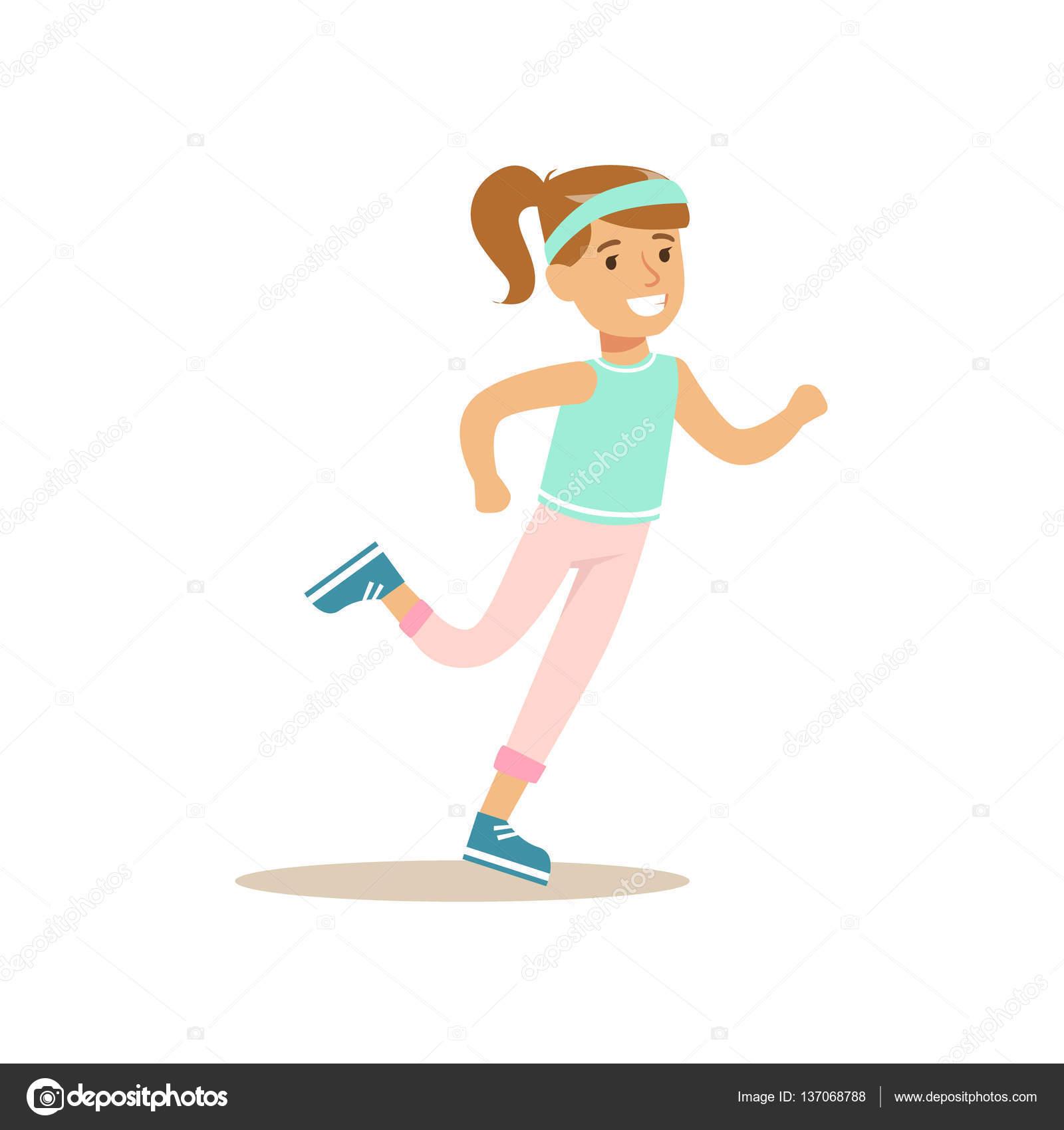 Imágenes Educación Física Niña Corriendo Niños Practicando