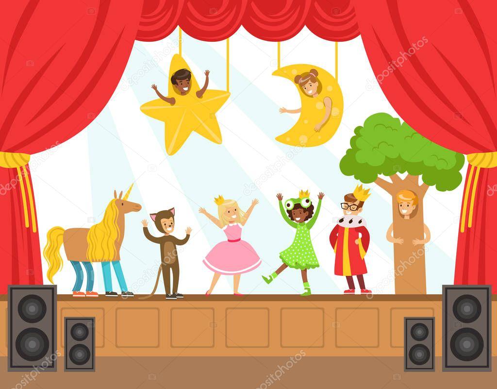 Imágenes: niños haciendo teatro | Los niños actores ...
