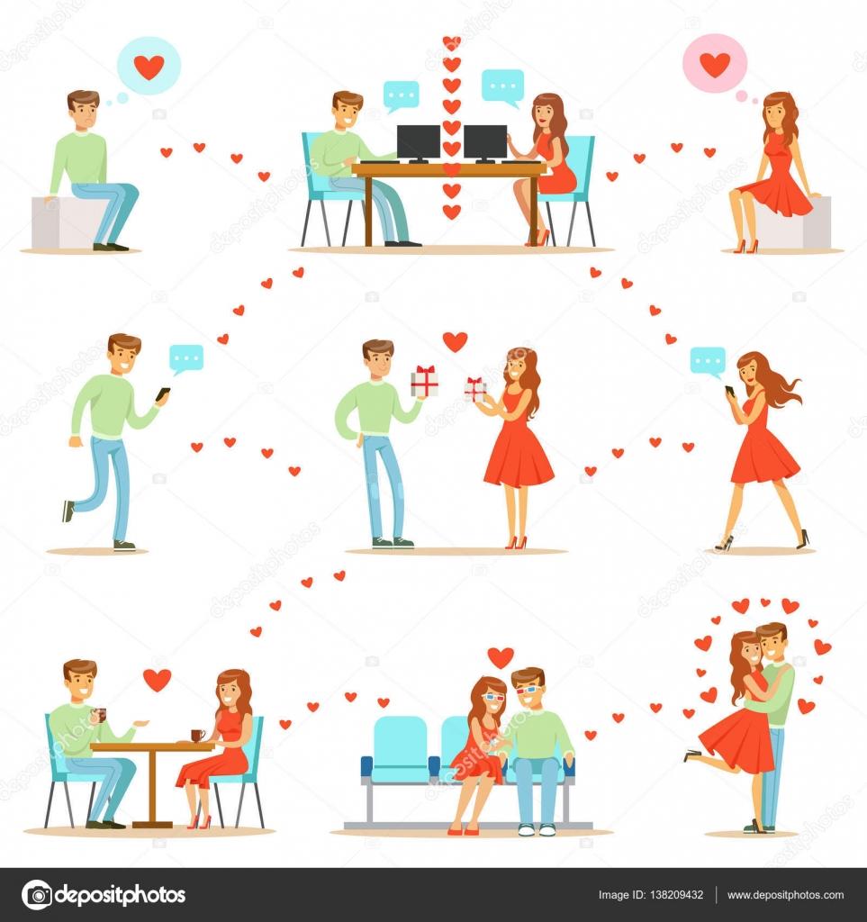 мужчина и женщина знакомств