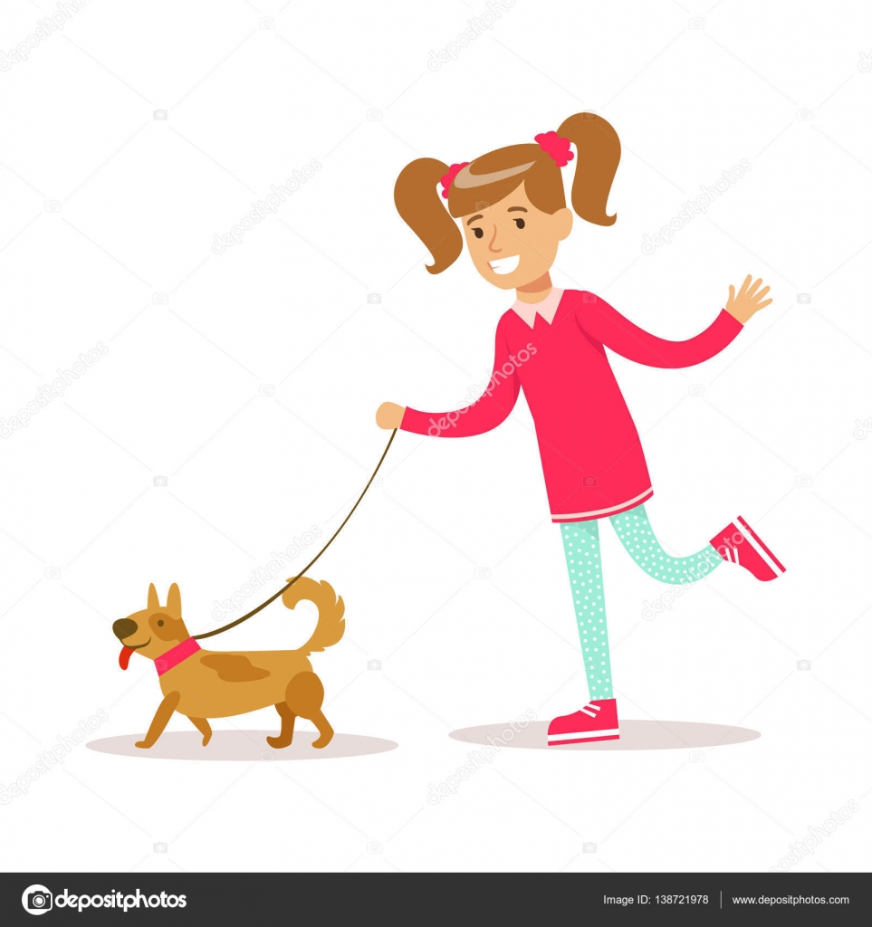 Walking Dog In Clothes Vid