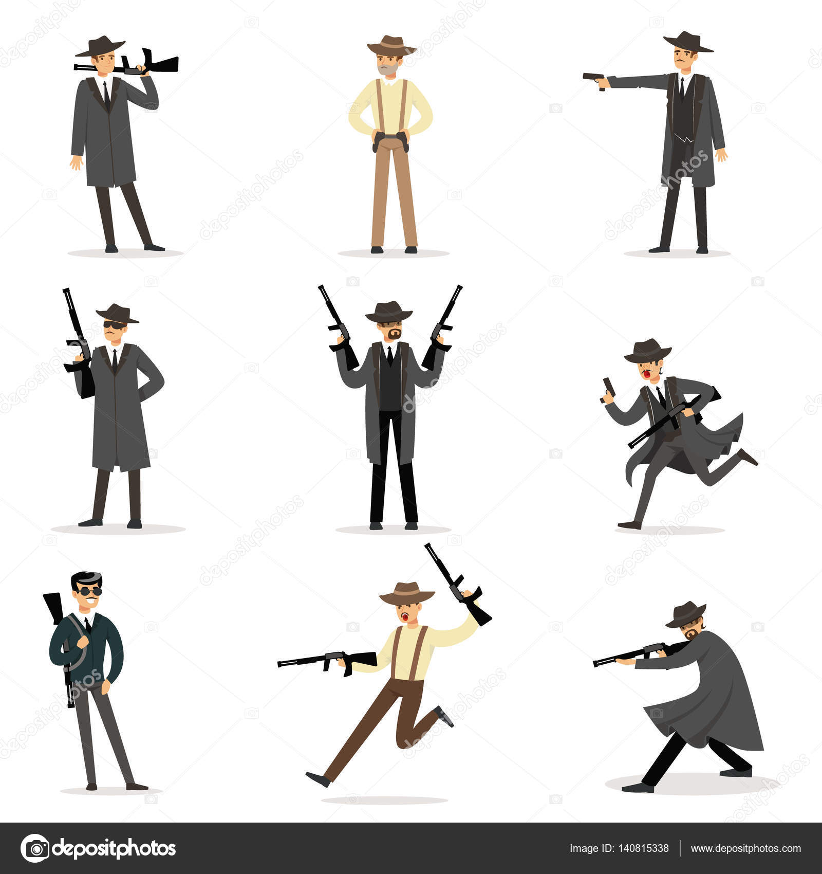 Pictures Mafia Cartoon Characters American Mafia Mob