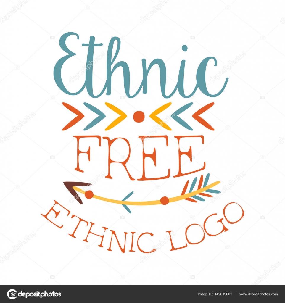 Elemento de estilo étnico Boho impresión gratis, plantilla de diseño ...