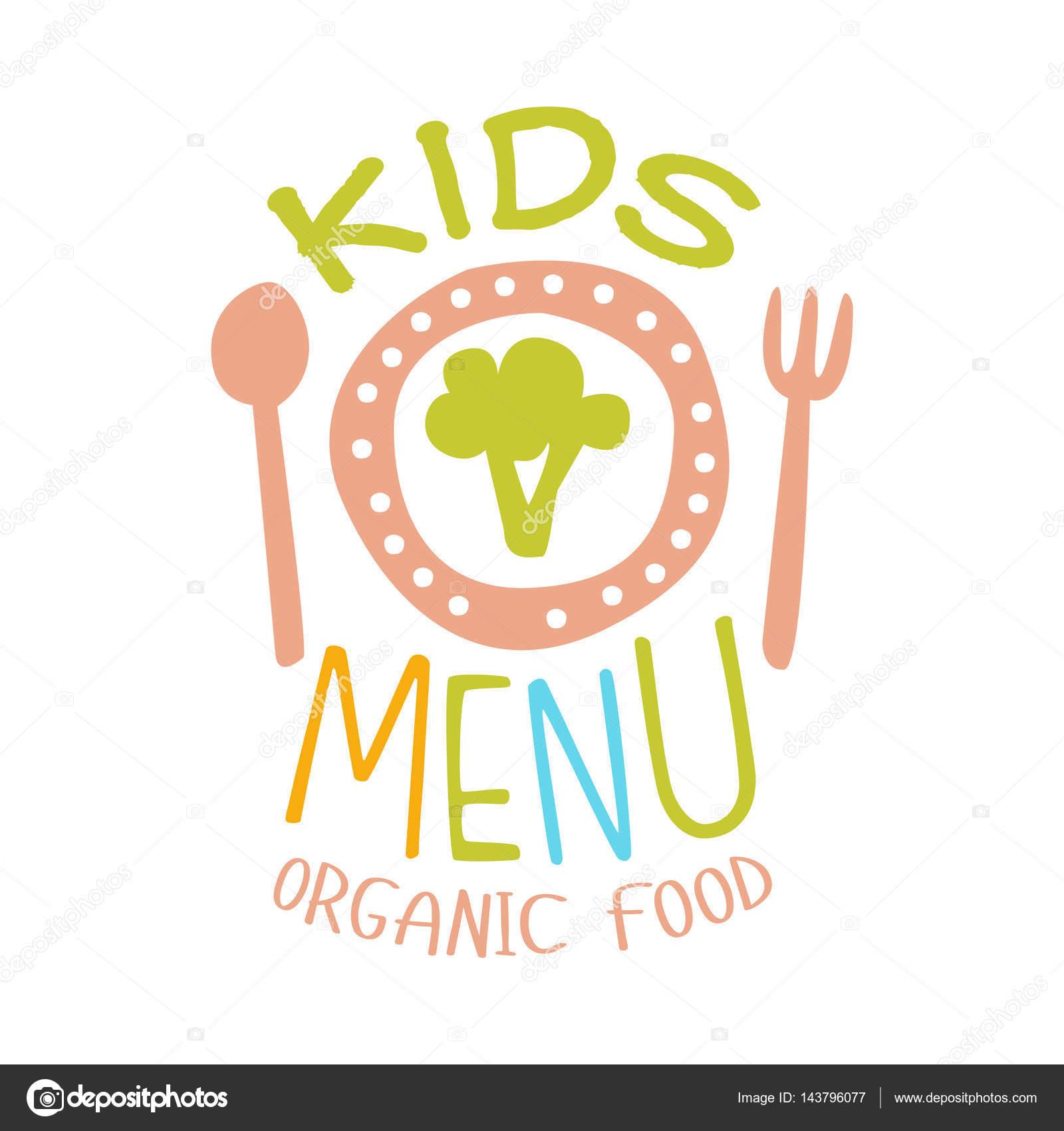 Alimentos ecológicos para niños, menú especial Cafe para niños Promo ...