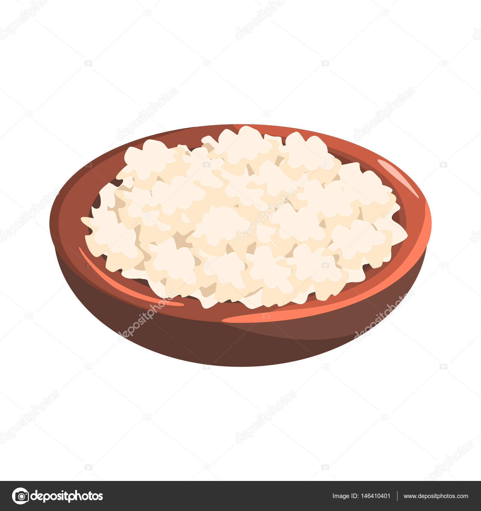 Plate Of Cottage Cheese, Food Item Rich In Proteins, Important Element Of  The Healthy