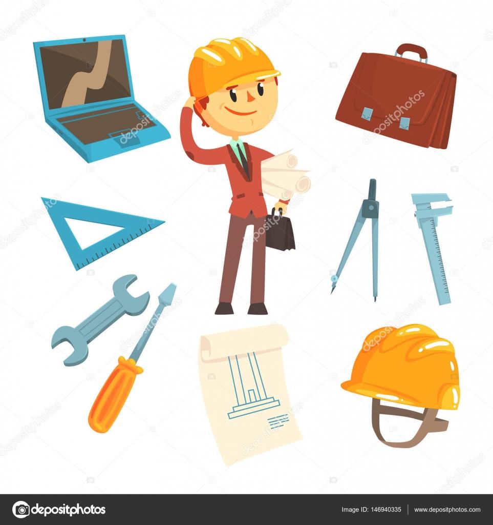 Constructor profesional y arquitecto hombre y sus for El dibujo de los arquitectos pdf