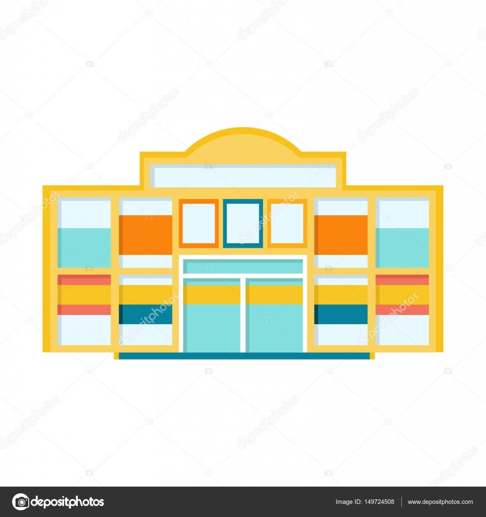Klassikstadt Shopping Mall modernes Gebäude Exterieur-Design Projekt ...