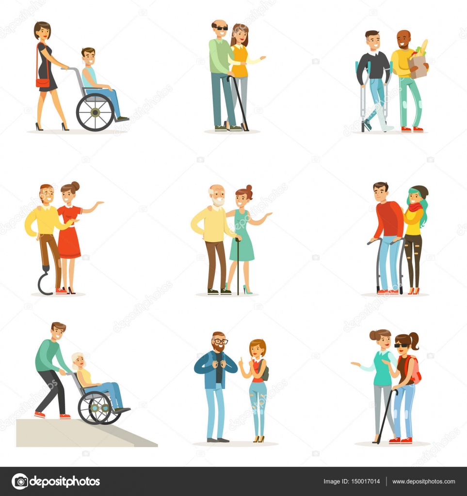 Resultado de imagen de personas ayudando a otras dibujo