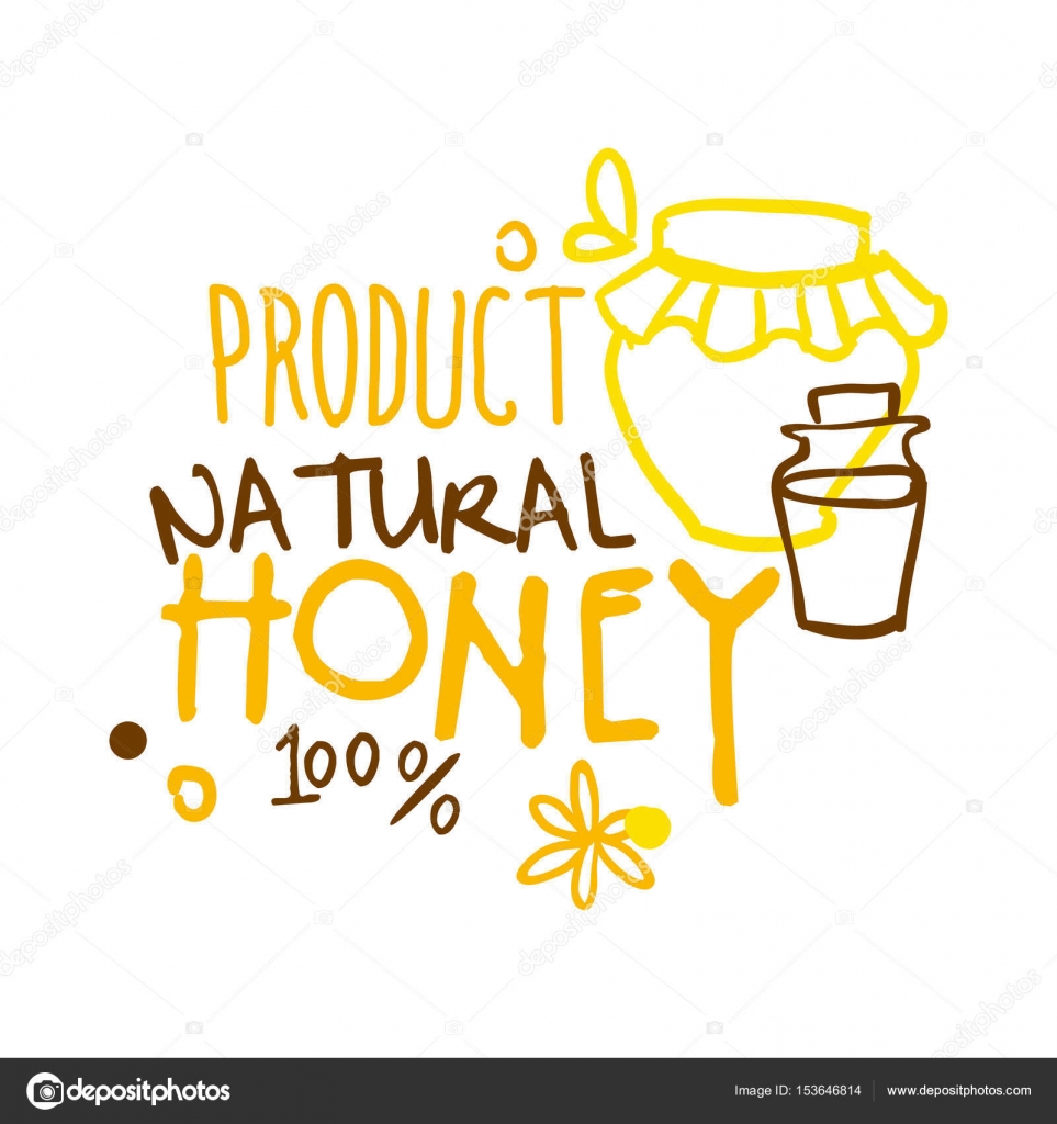 Natural product honey 100 percent logo symbol colorful hand drawn natural product honey 100 percent logo symbol colorful hand drawn vector illustration stock buycottarizona Image collections