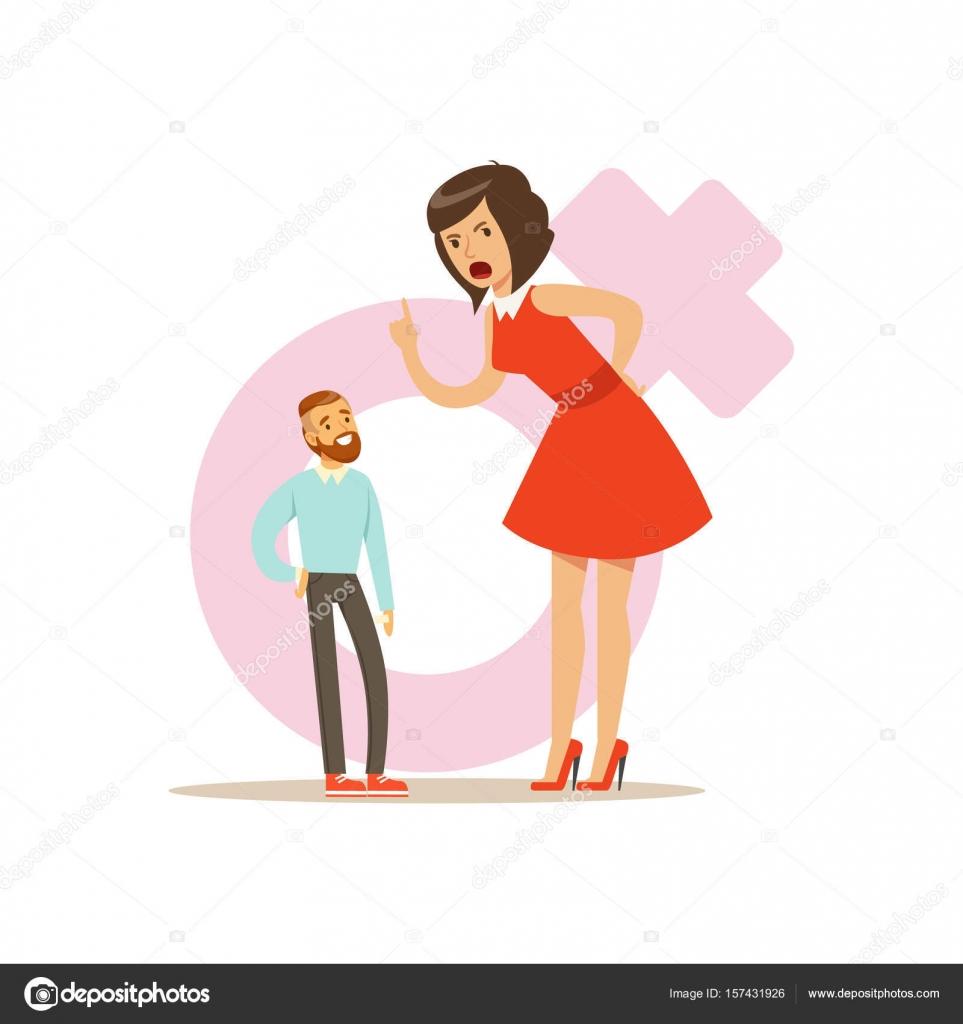 Frauen, die einen kleineren mann suchen