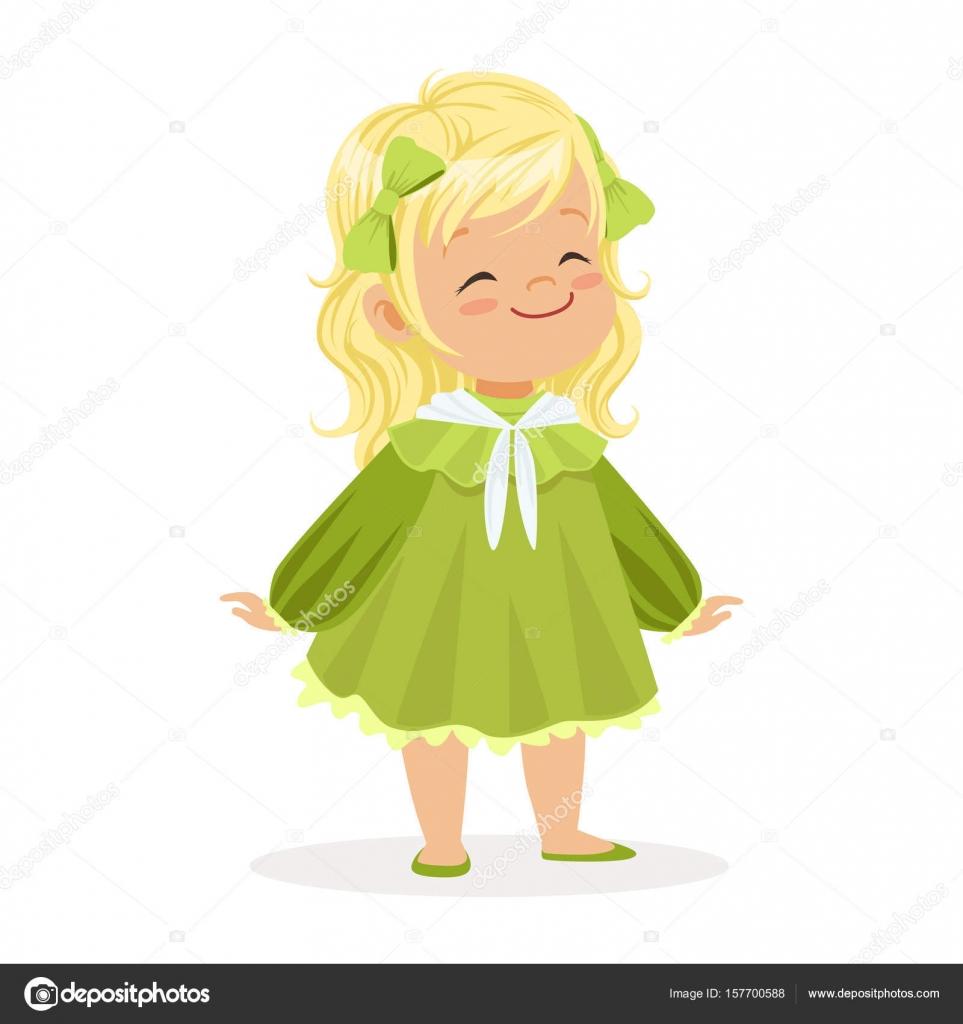 Фея в зеленом платье мультик