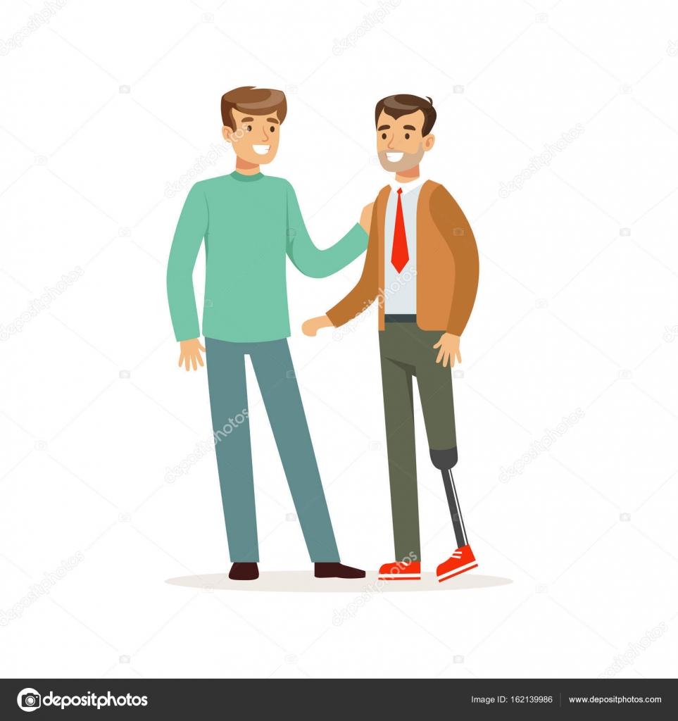 Two men talking stock vector topvectors 162139986 - Imagenes con animacion ...