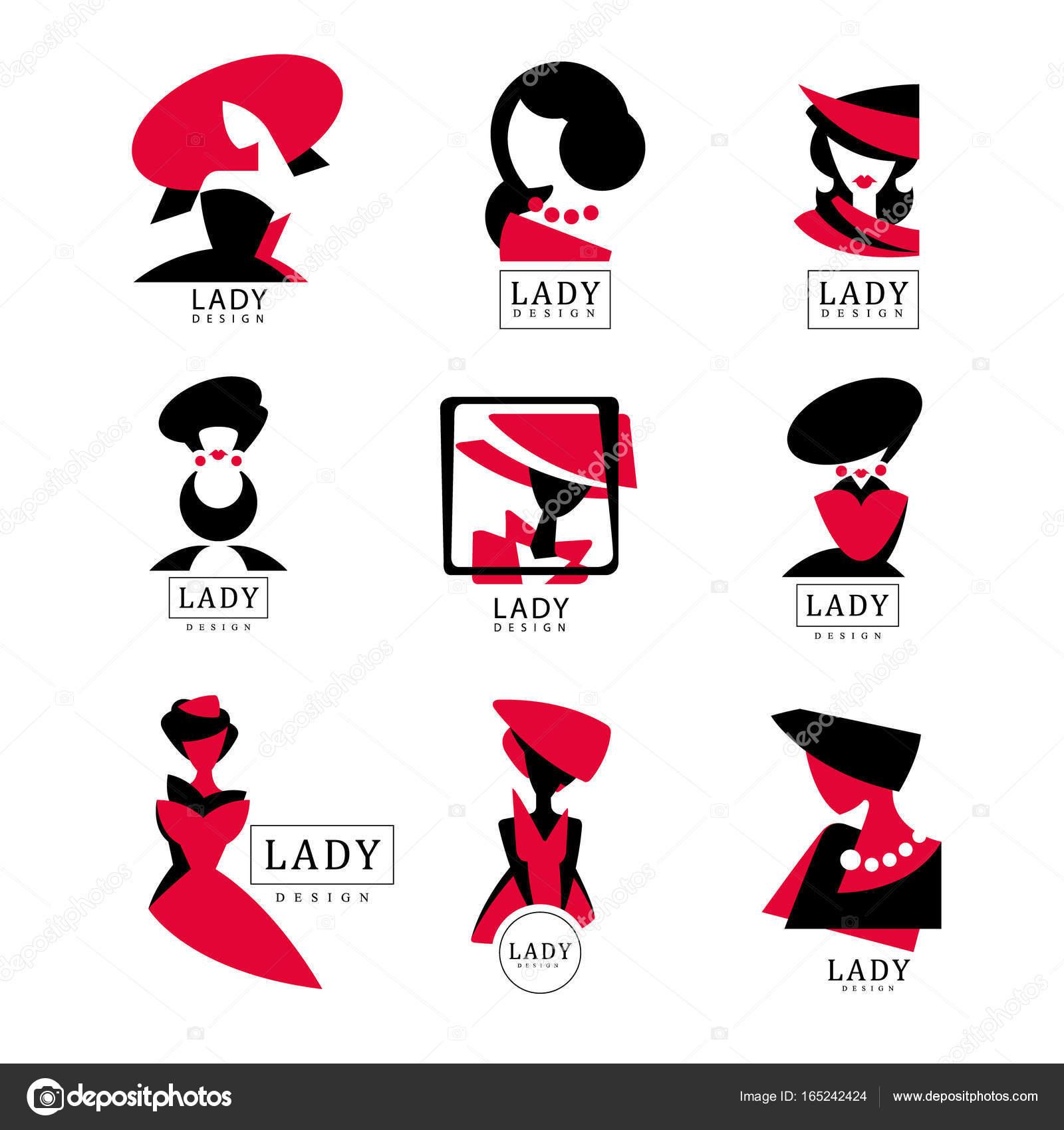 Lady logo design festgelegt vektor illustrationen fr modeboutique lady logo design festgelegt vektor illustrationen fr modeboutique damen kleidung shop thecheapjerseys Images