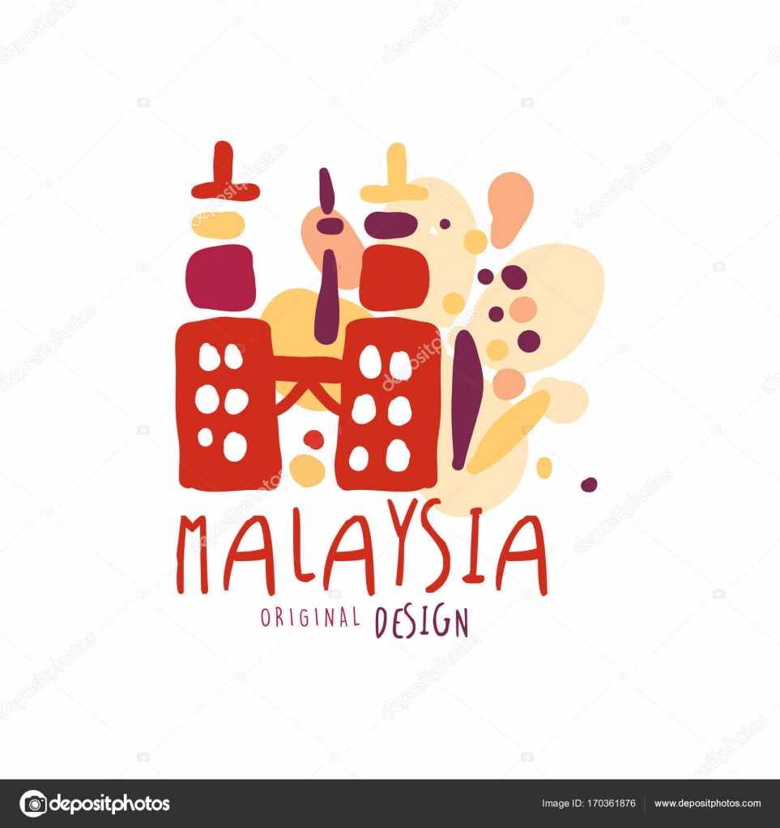 Travel to malaysia logo with petronas twin towers stock vector travel to malaysia logo with petronas twin towers stock vector buycottarizona Gallery