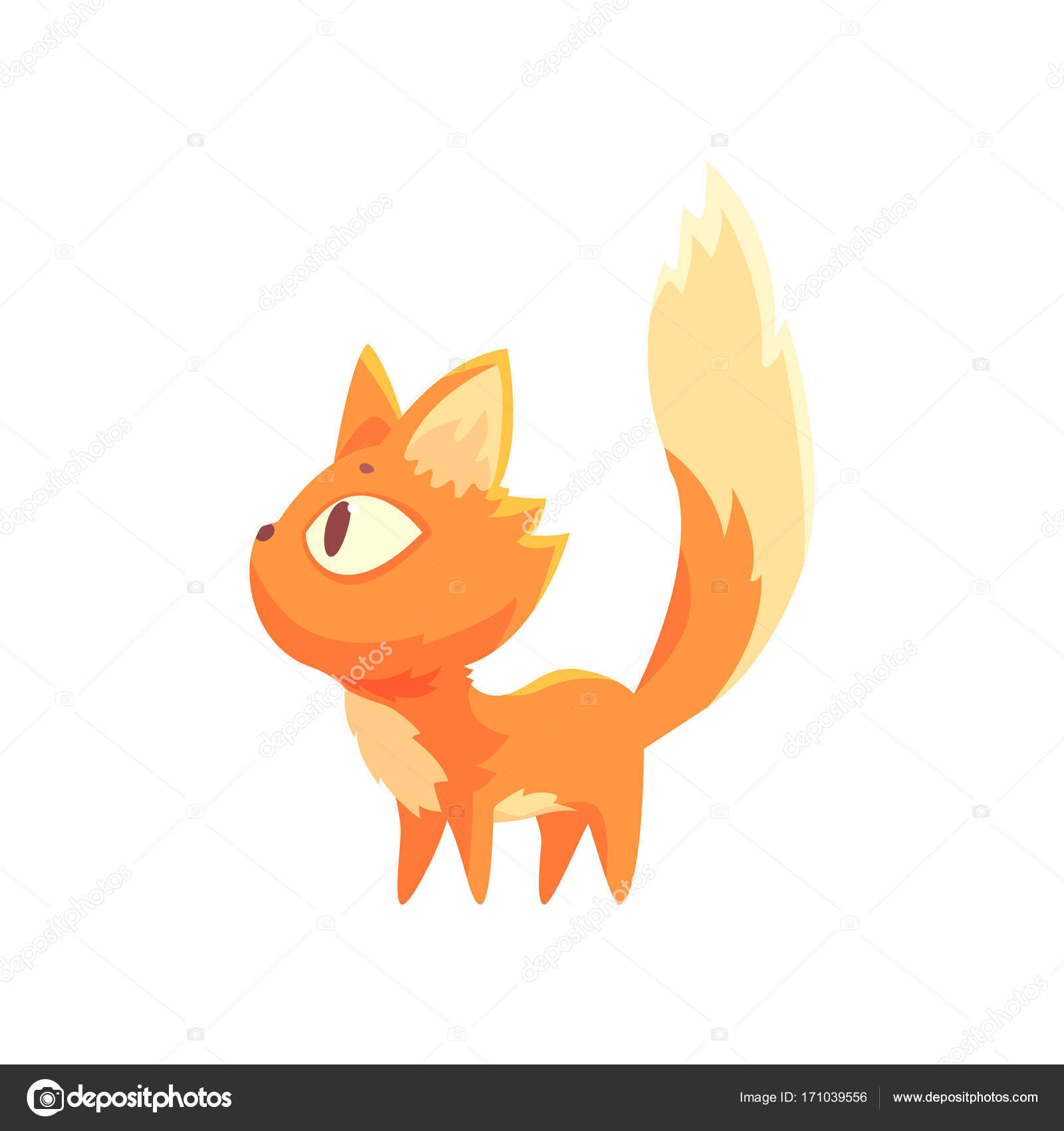 Image of: Download Grappige Rode Kitten Cute Cartoon Kat Karakter Vector Illustratie Stockvector Depositphotos Grappige Rode Kitten Cute Cartoon Kat Karakter Vector Illustratie