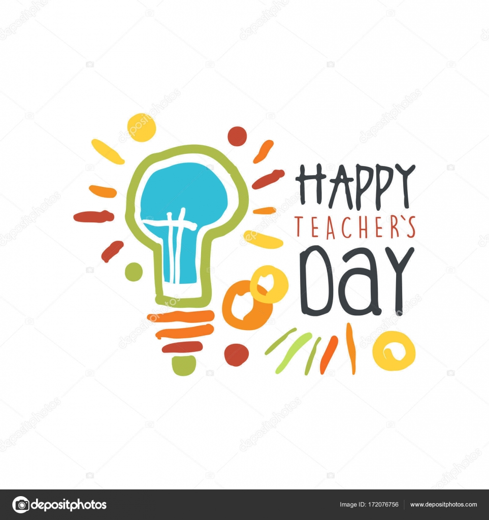 Teachers day greeting card with electric lamp stock vector teachers day greeting card with electric lamp stock vector m4hsunfo