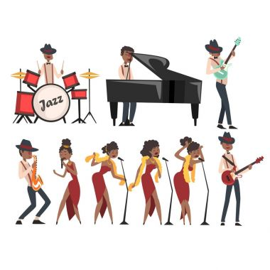 jazz artists characters