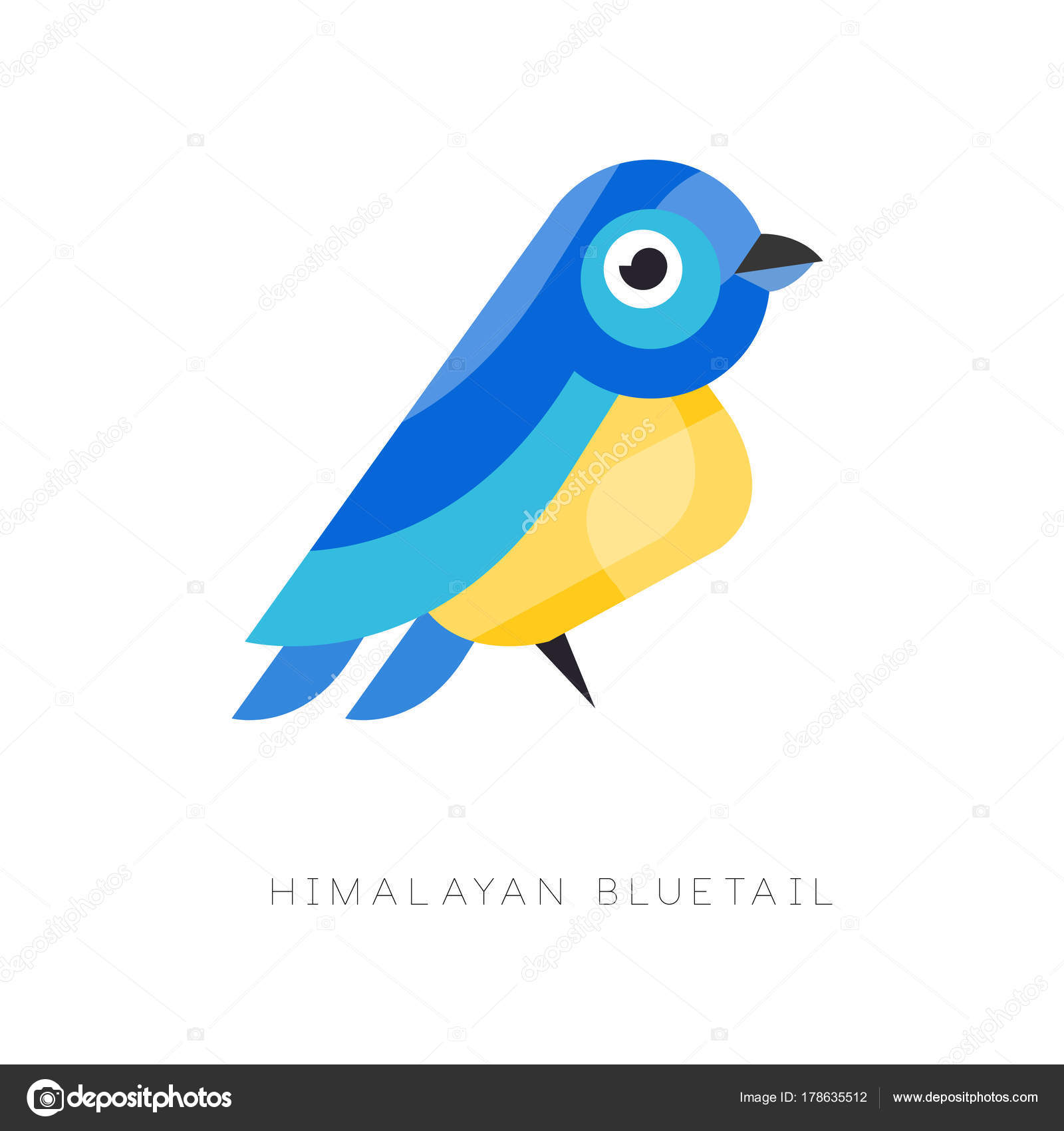 Vettore Figure Geometriche Da Stampare Illustrazione Di Bluetail