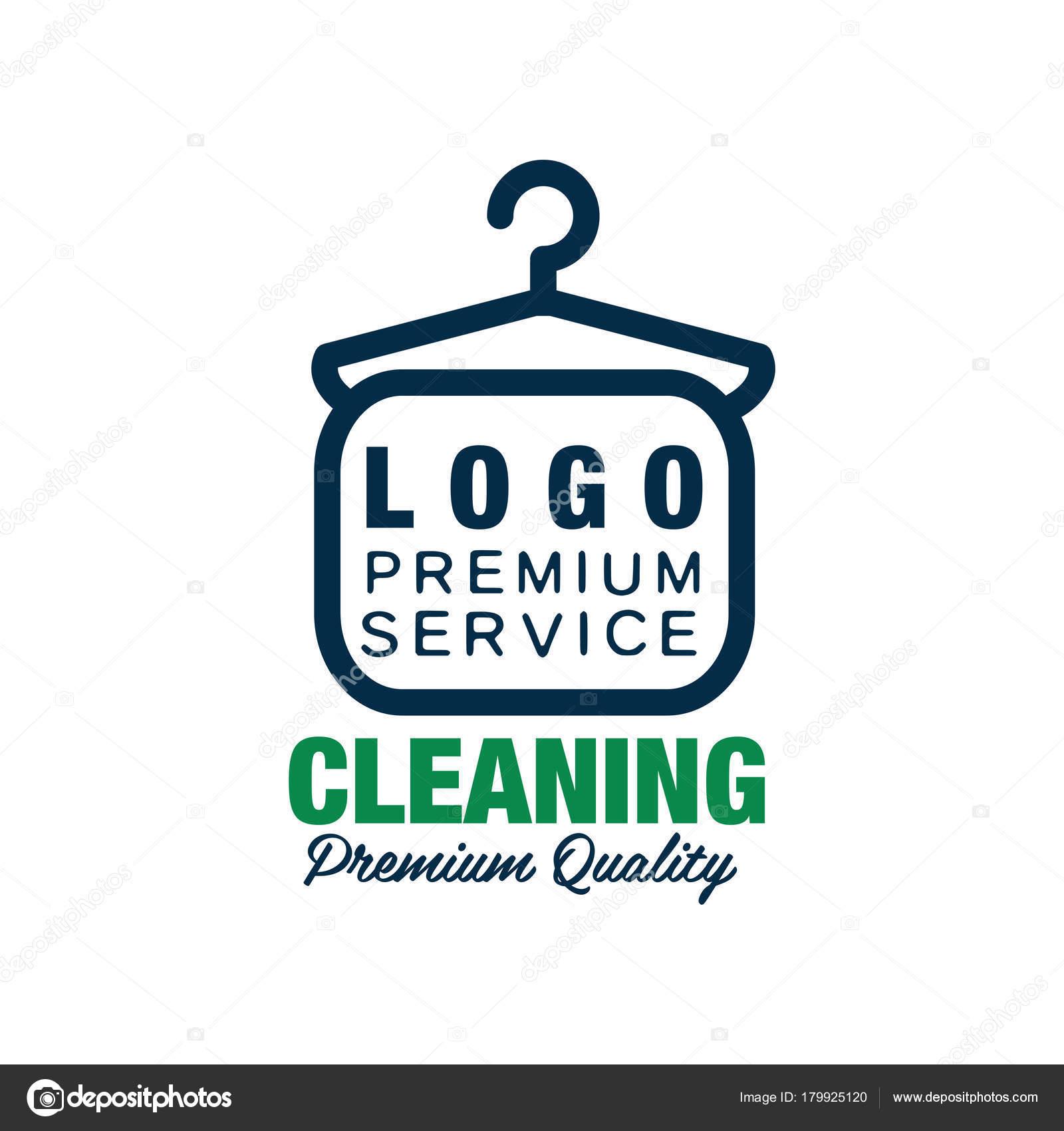Creative logo for dry cleaning or laundry service clothes hanger creative logo for dry cleaning or laundry service clothes hanger symbol in line style buycottarizona Choice Image