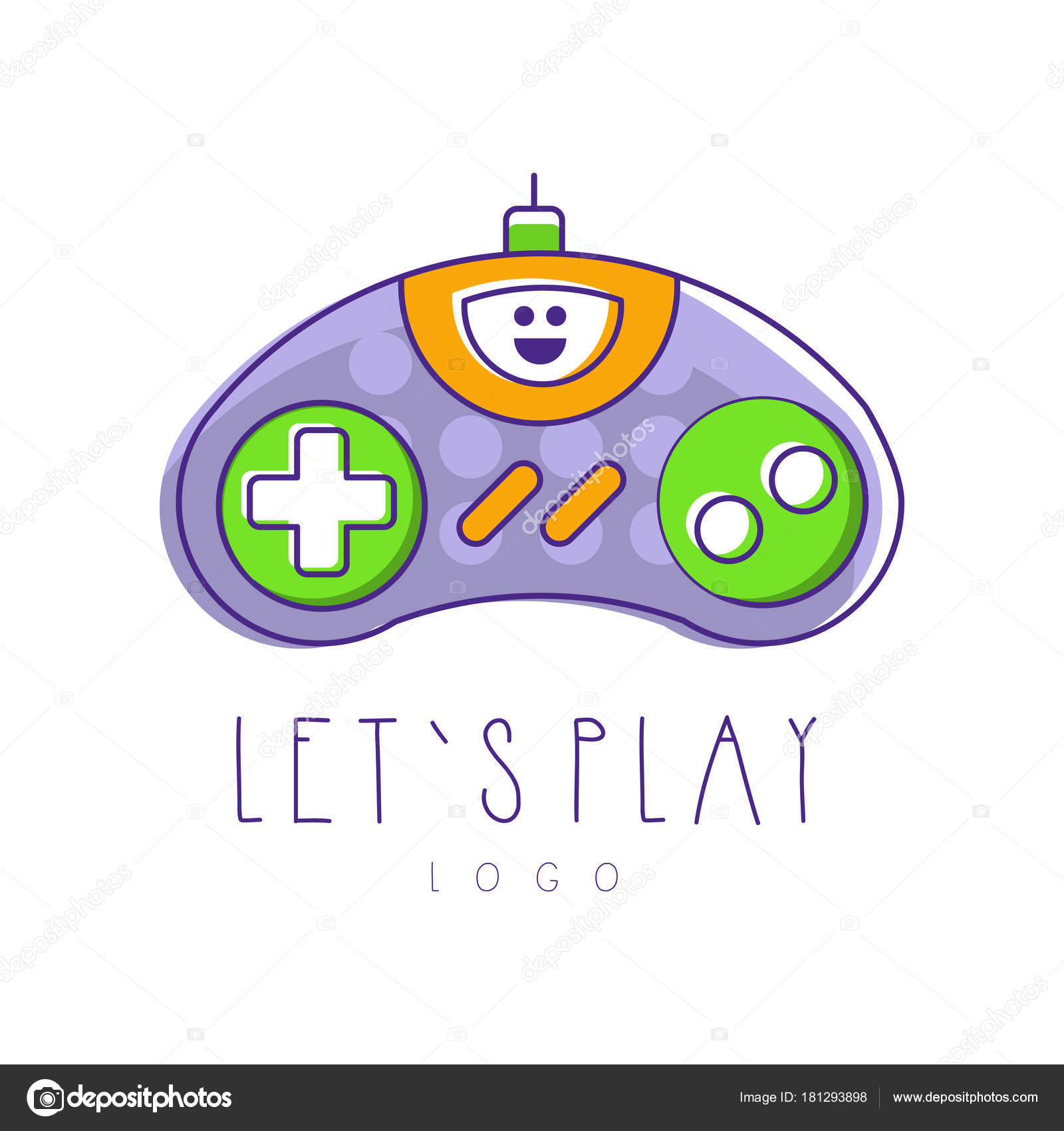 Logotipos De Videojuegos Logo De Controlador De Juegos De Azar