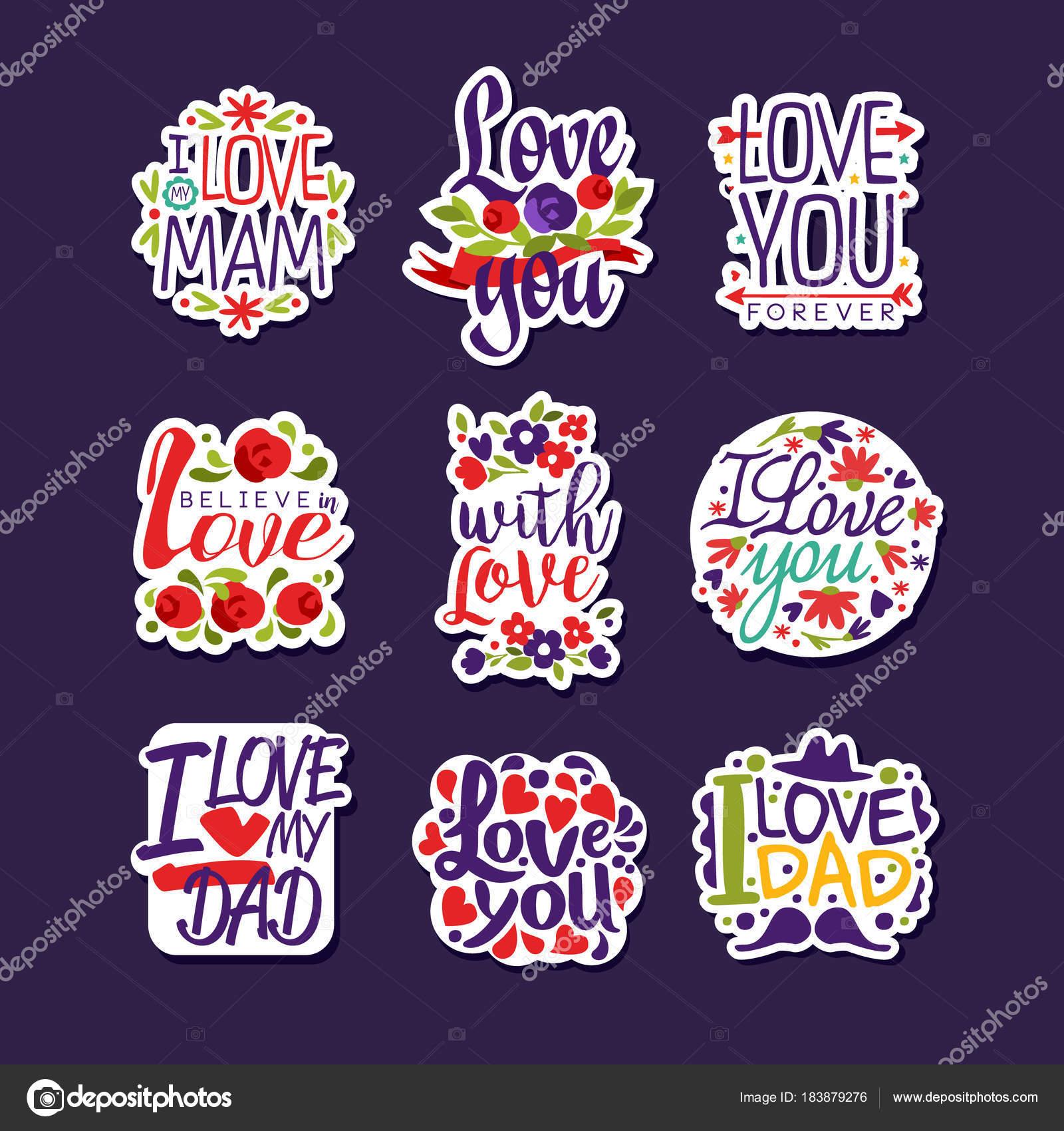 Sistema de inscripciones de amor, plantillas de diseño para tarjetas ...