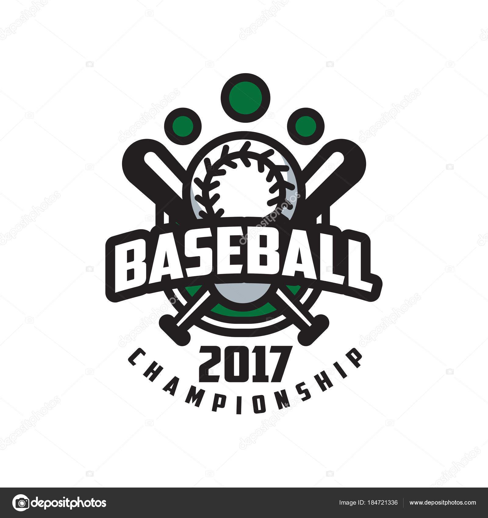 Baseball WM 2017 Logo Vorlage, Gestaltungselement für Banner, Emblem ...