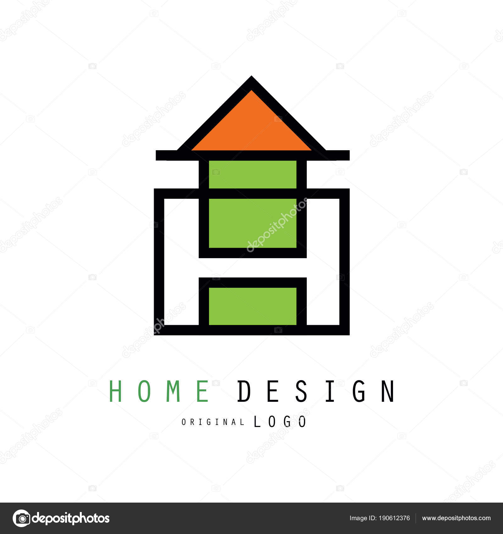 Creative Vector Logo For Construction Or Architecture