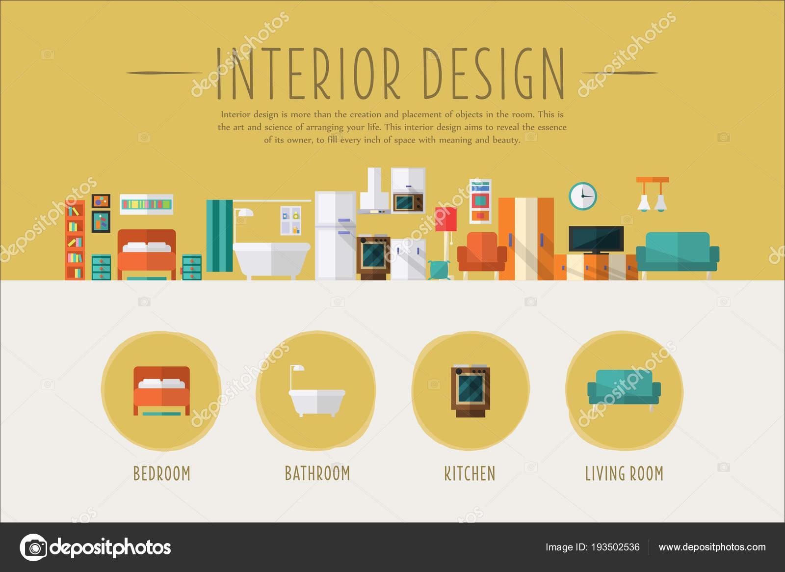 Interior design web banner template bedroom bathroom for The make room website