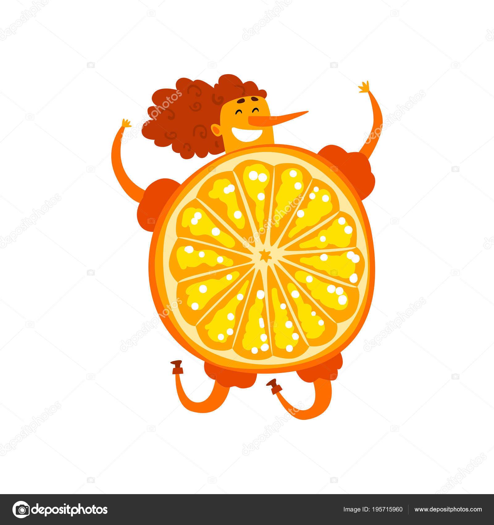 Orange Fruit Cartoon Picture