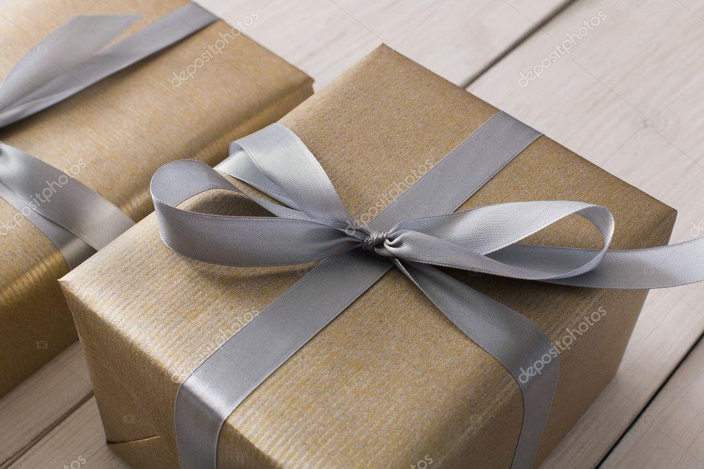 Envoltura de regalos Moderna Navidad presente en cajas de Fotos