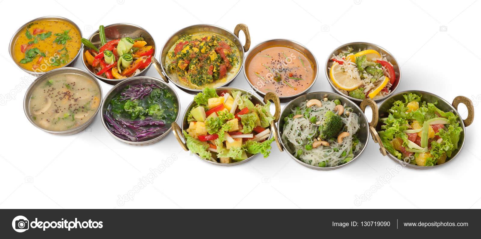 Vegan and vegetarian indian cuisine hot spicy dishes stock photo vegan and vegetarian indian cuisine hot spicy dishes stock photo forumfinder Gallery
