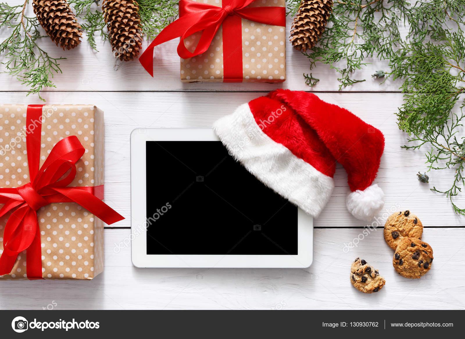 Weihnachten Online-shopping-Hintergrund — Stockfoto © Milkos #130930762