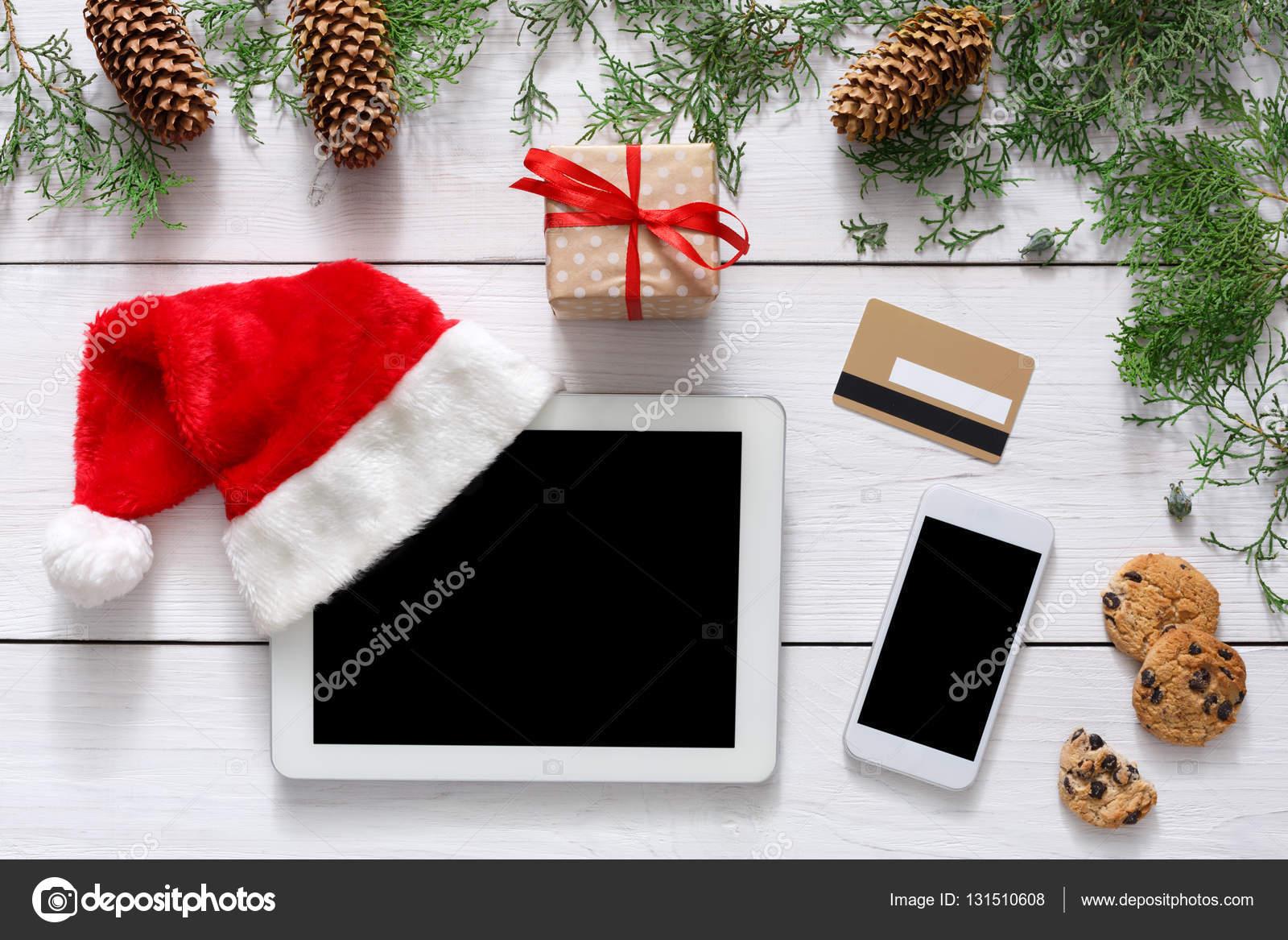 Weihnachten Online-shopping-Hintergrund — Stockfoto © Milkos #131510608