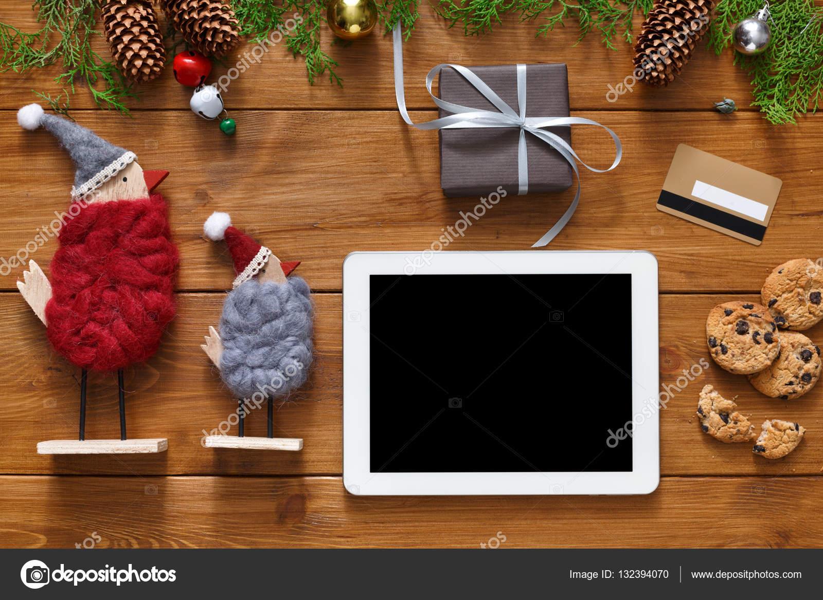 Weihnachten Online-shopping-Hintergrund — Stockfoto © Milkos #132394070