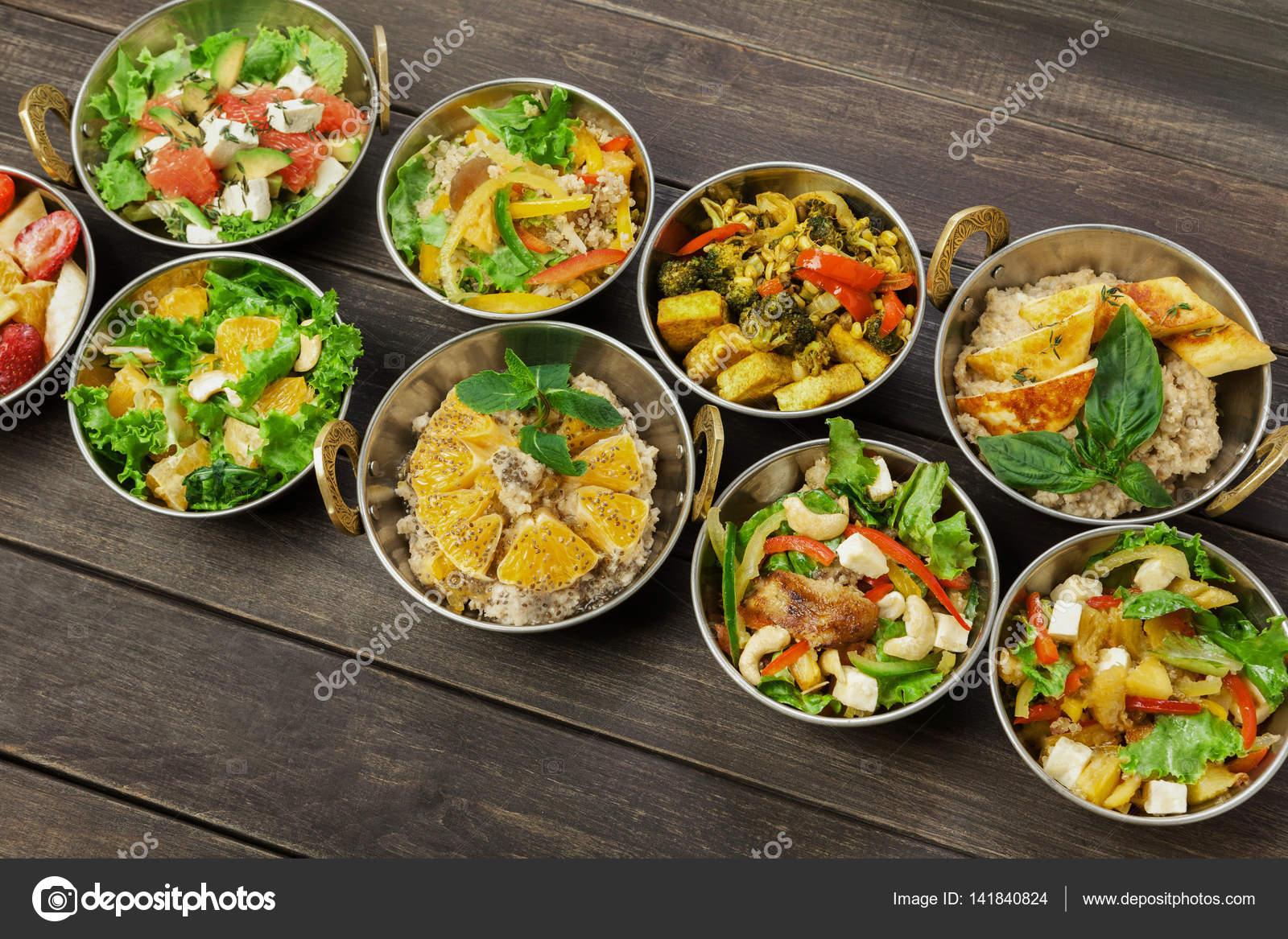 Из индийской кухни салаты
